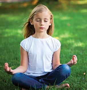meditate child