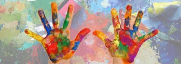 kids paint art