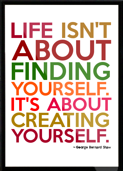 life-isnt-about-finding-yourself-life-is-about-creating-yourself-30